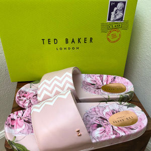 Ted Baker London Aveline Slide Sandals Size 9